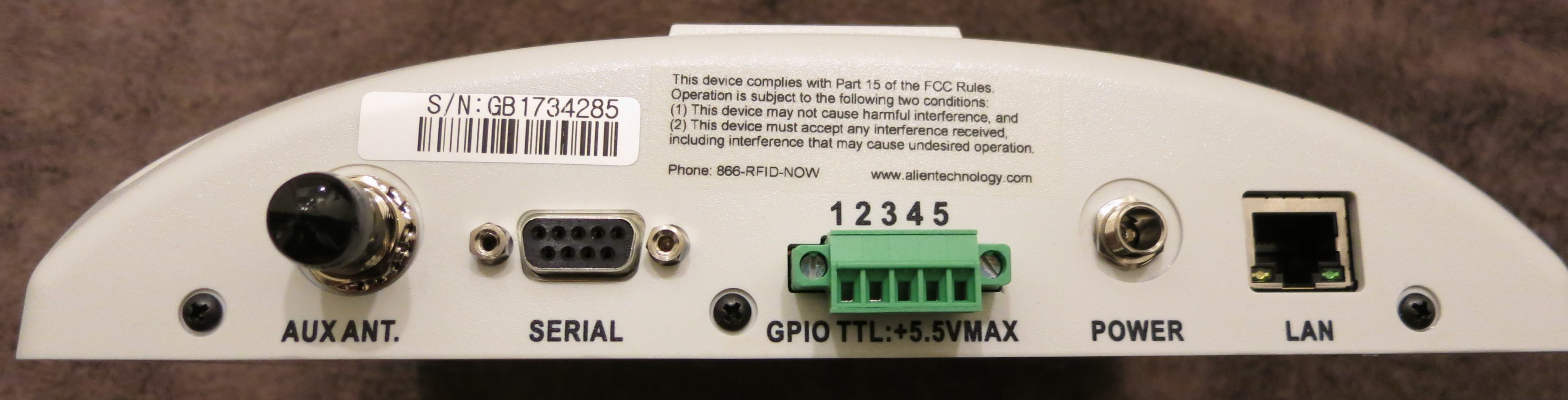 Confidant Mail Secure Email And Gigabyte Attachments Source Http Wwwelectronicscircuitscom Cirdir Data Printerport This Reader Has Ethernet A Serial Port Some General Purpose I O It Can Read On Trigger Input Or An Output When Detects Tag