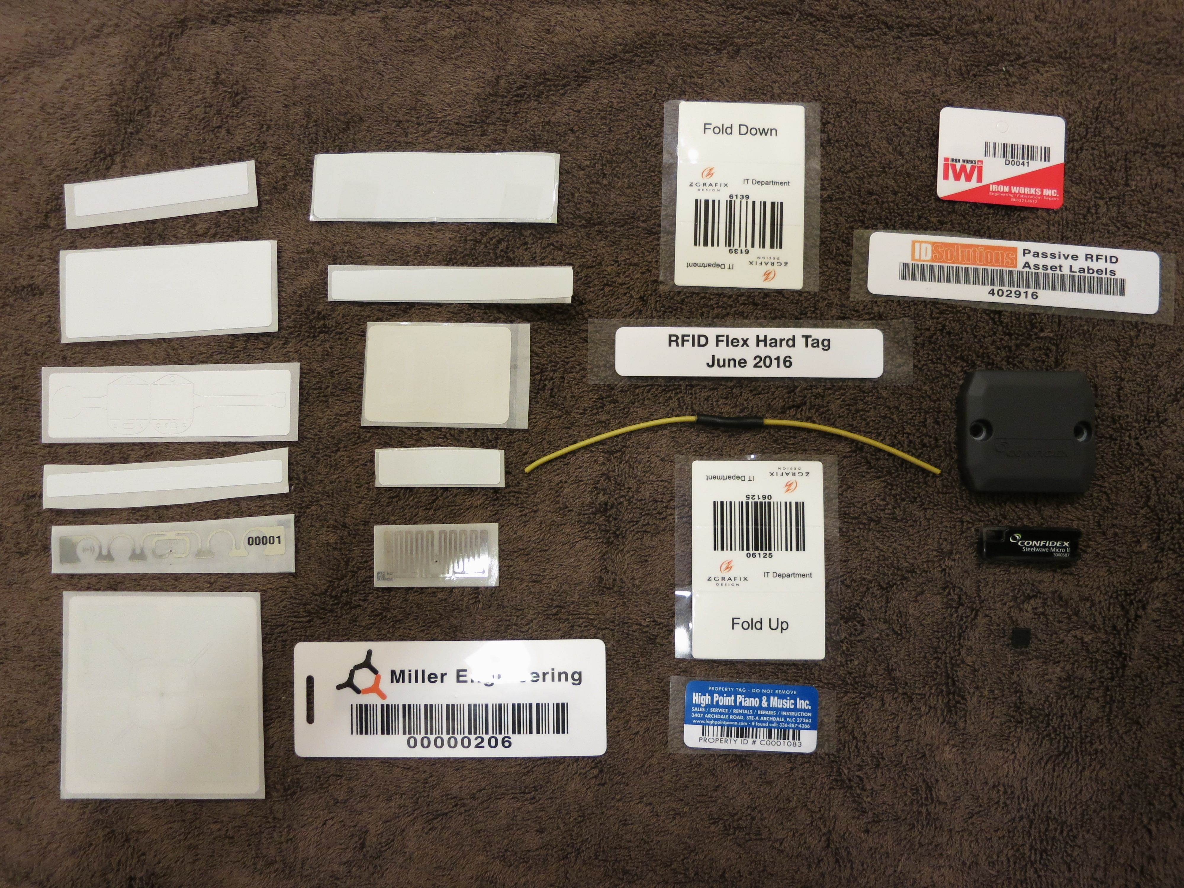 Confidant Mail Secure Email And Gigabyte Attachments Source Http Wwwelectronicscircuitscom Cirdir Data Printerport Here Is A Collection Of Rfid Tags Most These Are Badges Or Labels One Wire Dipole There Few Plastic Boxes Each Contains 96 Bit